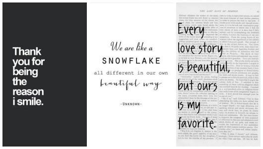 Montagem com três mensagens de Natal para Namorada.