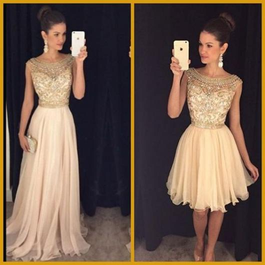 60 Vestidos De Debutante 2 Em 1 Looks Incríveis Pra Todos