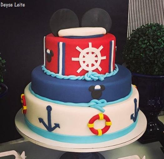 bolo 3 andares marinheiro