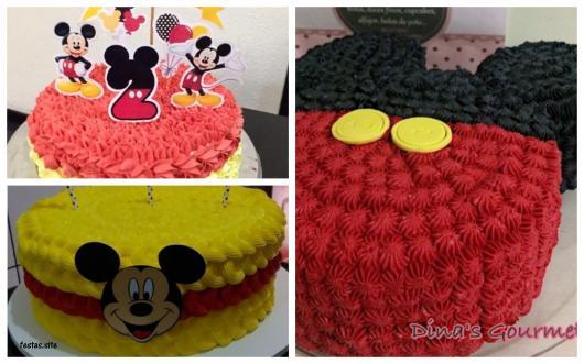 ideias bolo decorado com chantilly