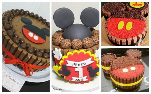 ideias para bolo de Kit Kat