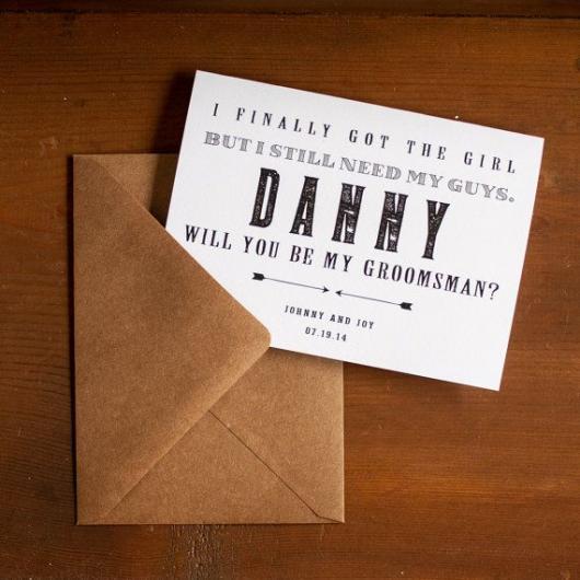 convite simples padrinho