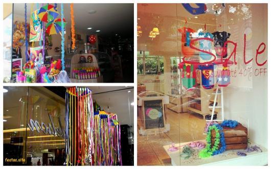 Decoraç u00e3o de Carnaval u2013 58 Ideias Divertidas& Dicas de Como Fazer! # Decoração De Loja Carnaval