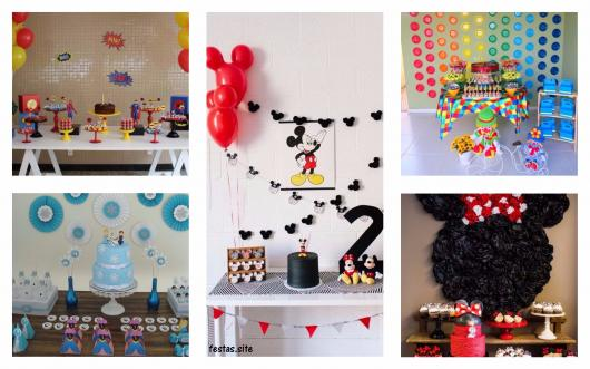 Decoração De Festa Infantil Simples 62 Ideias Temas Dicas