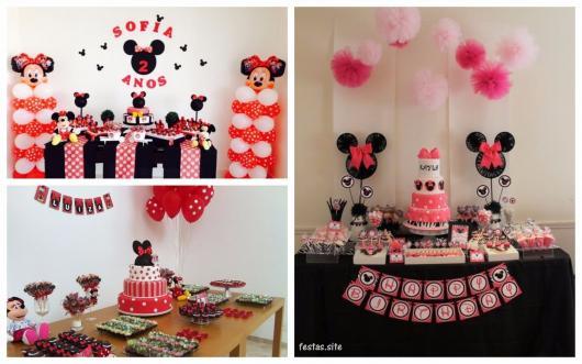 ideias festa da Minnie