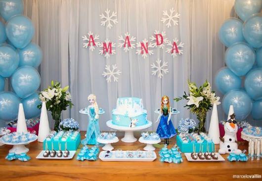festa Anna e Elsa Frozen