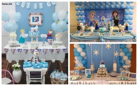 ideias para festa Frozen