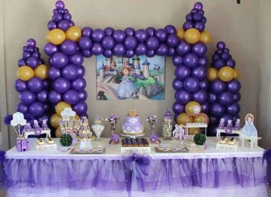 decoração princesa