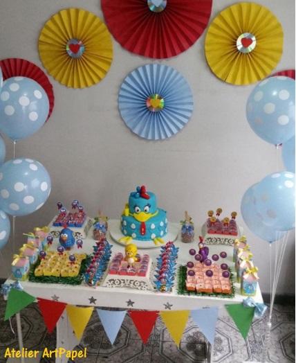 festa provençal Galinha Pintadinha