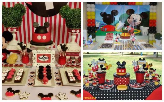 ideias para festa do Mickey