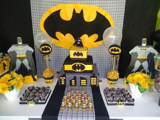 painel festa Batman