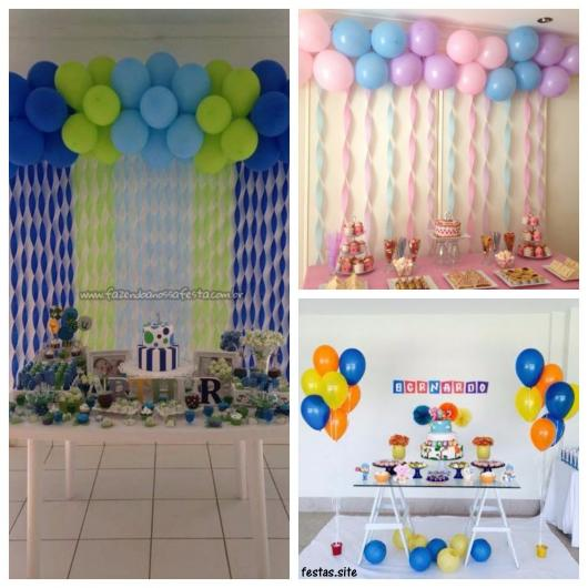 Decoraç u00e3o de Festa Infantil Simples u2013 62 Ideias, Temas& Dicas Imperdíveis!