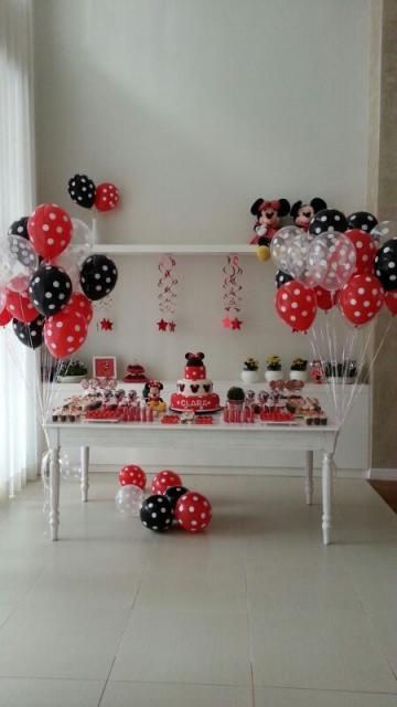 festa Minnie em casa
