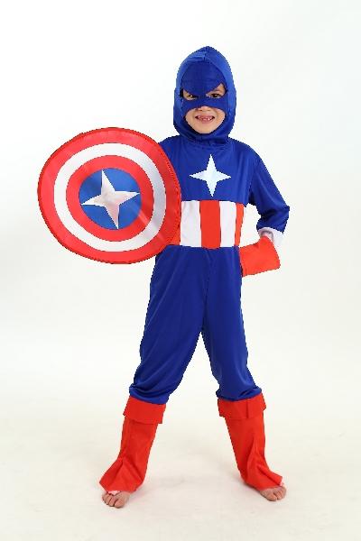 Fantasia Capitão América Infantil como fazer