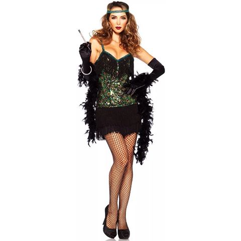 Fantasia vestido preto tubinho