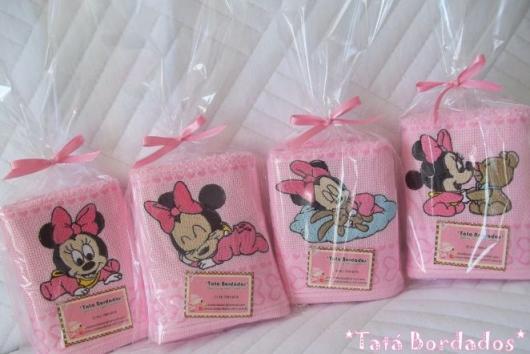 Festa da Minnie rosa toalhinhas de lembranças