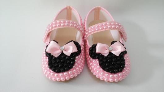 Festa da Minnie rosa sapatinho