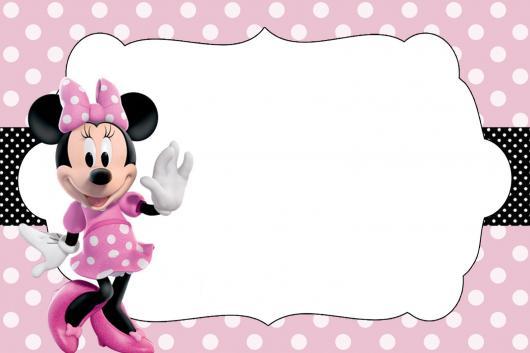 Festa da Minnie rosa em branco