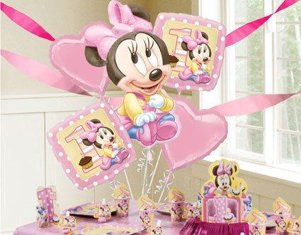 Festa da Minnie rosa baby decoração
