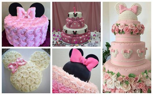 festa da minnie dicas de bolos