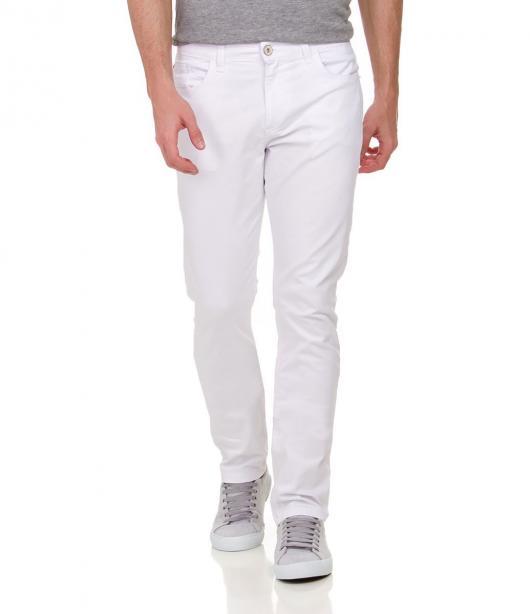 Roupa para festa neon calça masculina branca