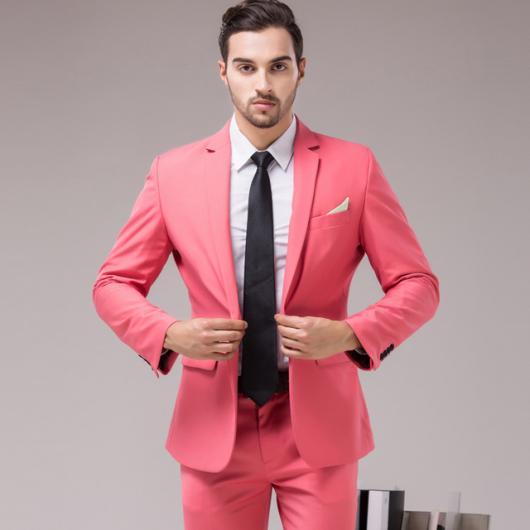 Roupa para festa neon terno masculino rosa