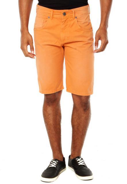 Roupa para festa neon bermuda laranja
