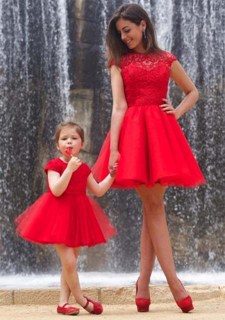 modelo tal mãe tal filha