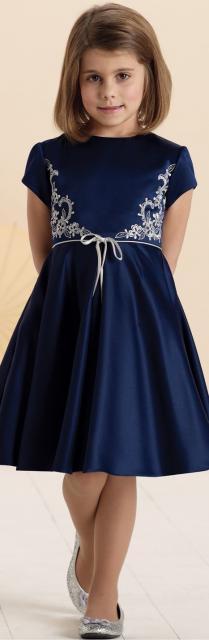 Modelos de vestidos azules