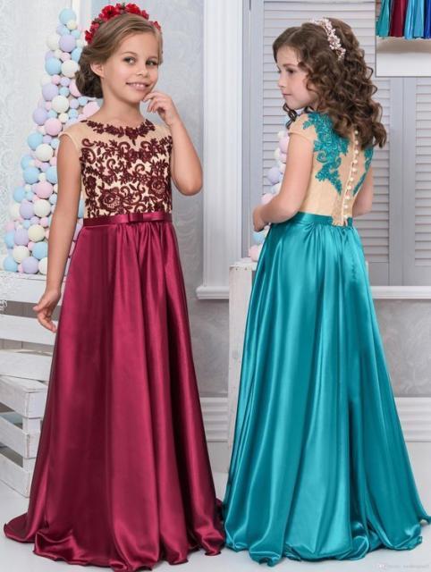 Vestido de Festa Infantil – 76 Modelos Lindíssimos & Dicas ...