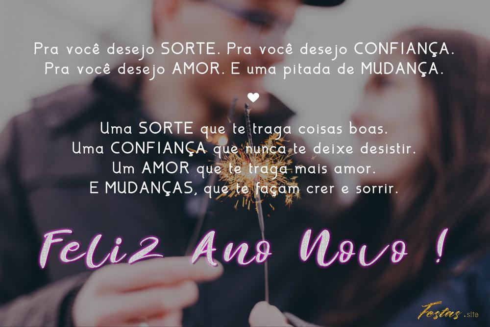 47 Mensagens De Ano Novo Para Namorada Textos E Imagens Lindas