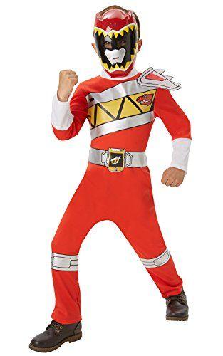 Fantasia Power Rangers Vermelha.