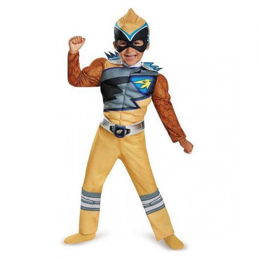 Fantasia Power Rangers infantil.
