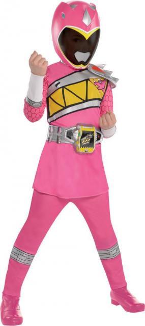 Fantasia Power Rangers Rosa.