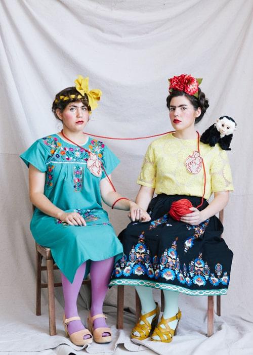 Fantasia da Frida Kahlo