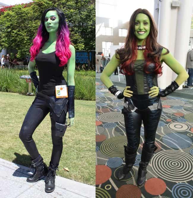 Fantasia da Gamora Vingadores Marvel