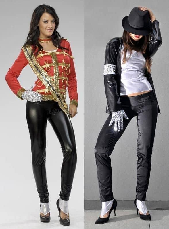 Fantasia feminina do Michael Jackson