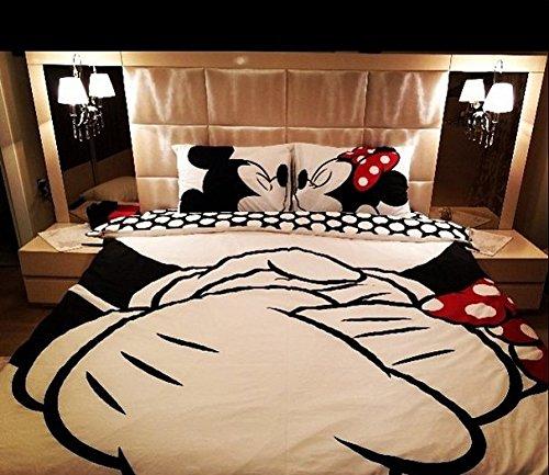 Bodas de Papel presente roupa de cama do Mickey e Minnie