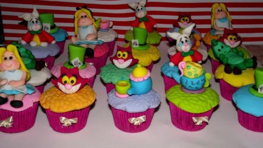 Cupcake Alice no País das Maravilhas