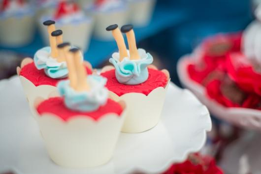 Cupcake Alice no País das Maravilhas alice dentro