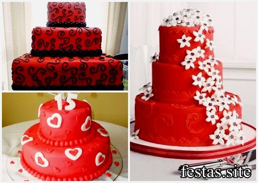 Bolo de 15 anos 60 modelos deslumbrantes como fazer em casa bolo de 15 anos modelos vermelhos altavistaventures Gallery