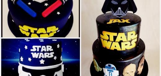 Bolo Star Wars modelos de pasta americana