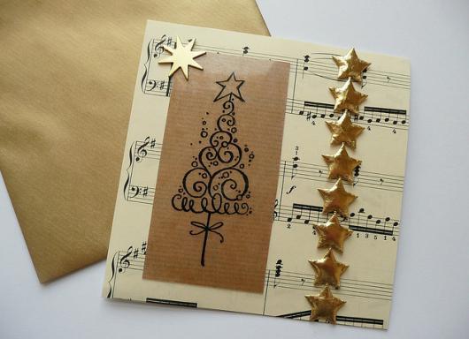 cartão de música