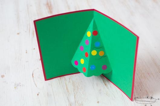 cartão 3D simples