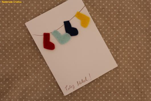 cartão simples namorada