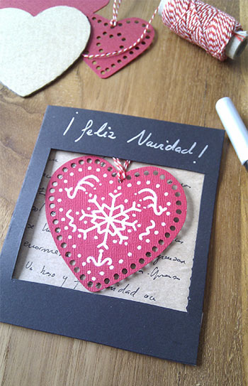 cartão com coração