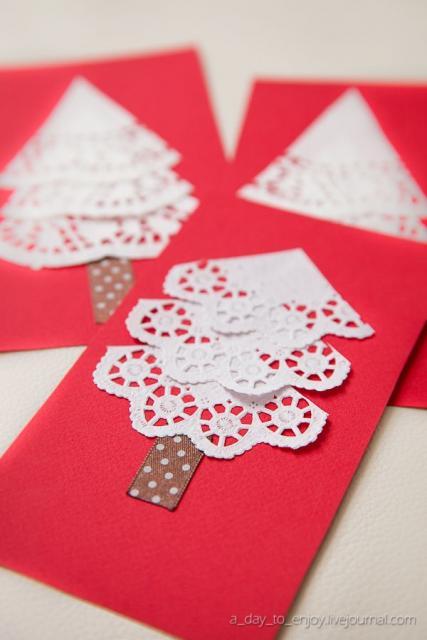 cartão com reaproveitamento materiais