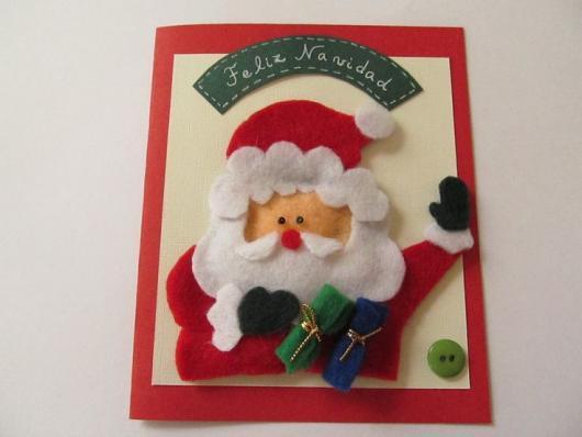 cartão Papai Noel
