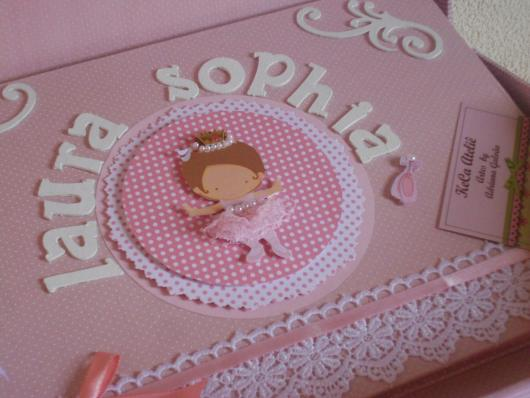 Convites bailarina baby