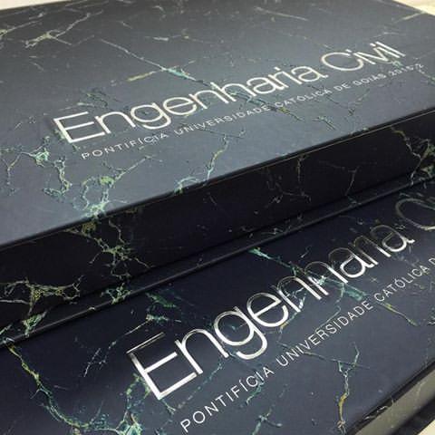 Convites de Formatura engenharia na caixa